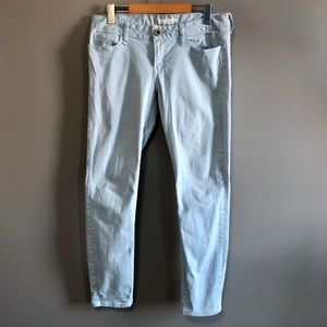 Guess Baby Blue Skinny Jeans